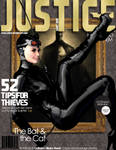 Cat Woman Justice Magazine. Inspired by ARTGERM!