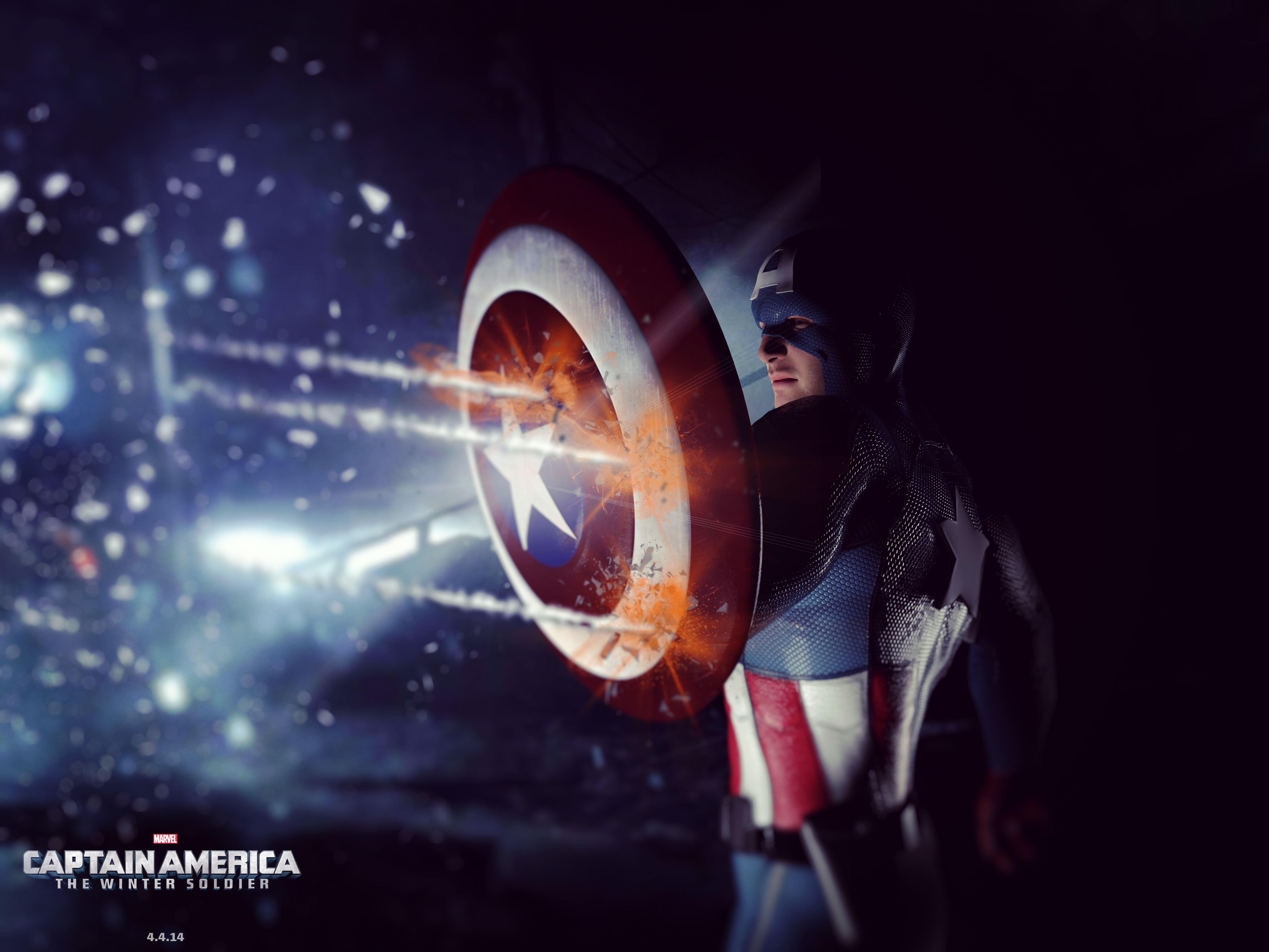 Captain America - The Winter Soldier by zosco