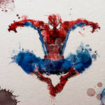 Spiderman Watercolour
