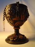 victorian vintage old goblet by lemon-stock