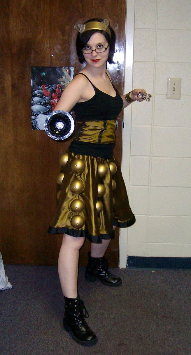 Dalek Costume by EmilyScissorhands