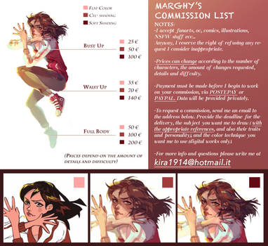 Commission List by Marghy-Art