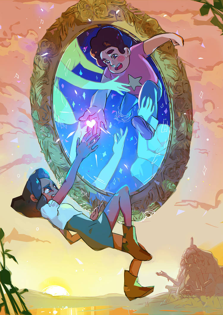 Steven and Connie by Marghy-Art