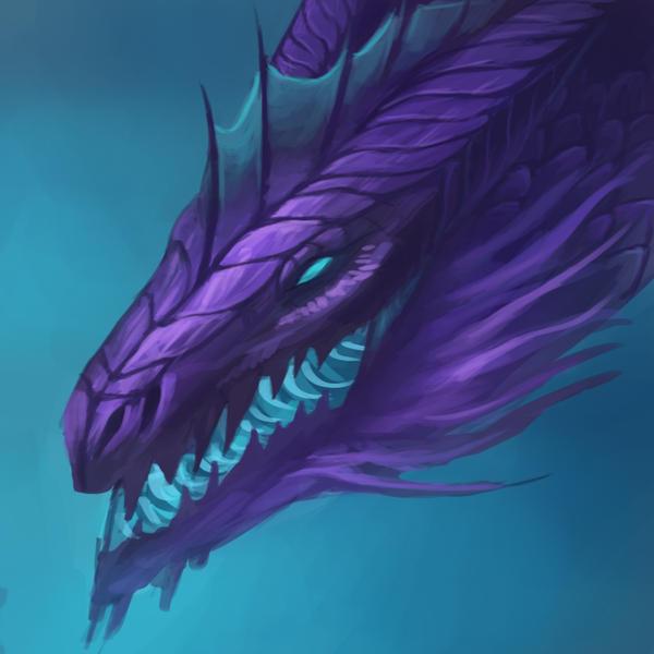 Purple Dragon Icon By Neylica On Deviantart