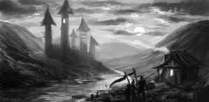 Castlenight by neylica