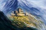 The castle of Mount Taldris
