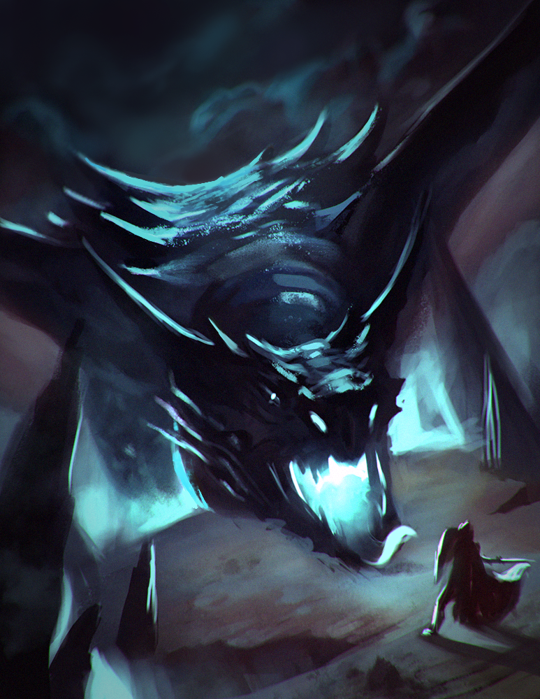 dragon by RedMorpho