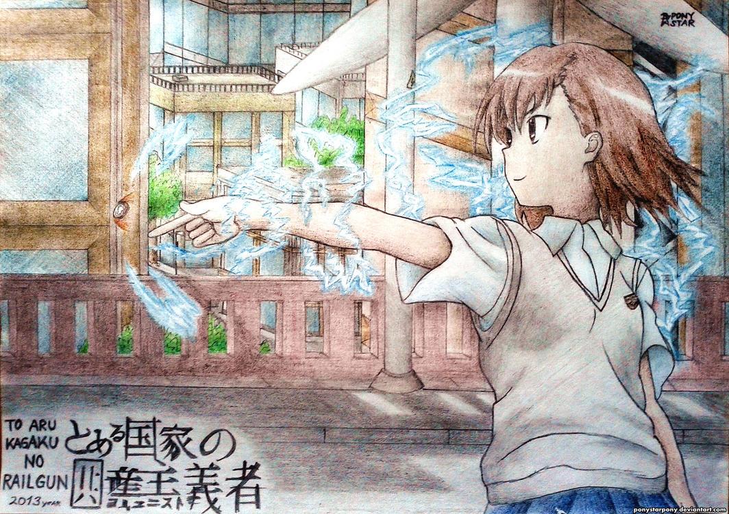 Misaka (To Aru Kagaku no Railgun) by Ponystarpony