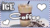 Ice Coffee Stamp by CoffeeAddictionClub