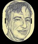Alan Rickman Tattoo