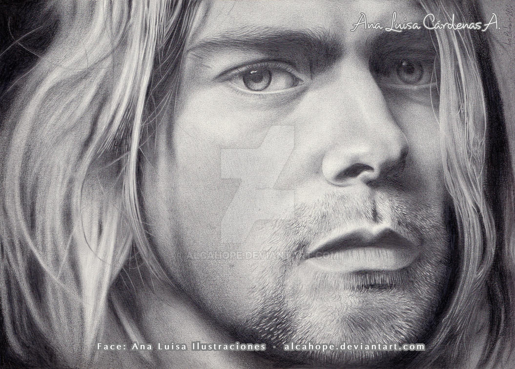 Kurt Cobain by alcahope