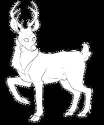 Deer // F2U by HuniiTea