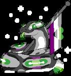 F2U // Aro Ace Snake Pride