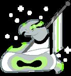 F2U // Agender Snake Pride