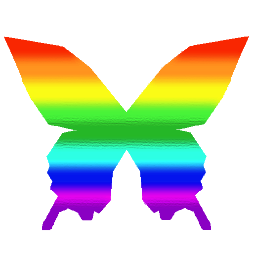 MMD Butterfly Rainbow Textures by MANAKH on DeviantArt