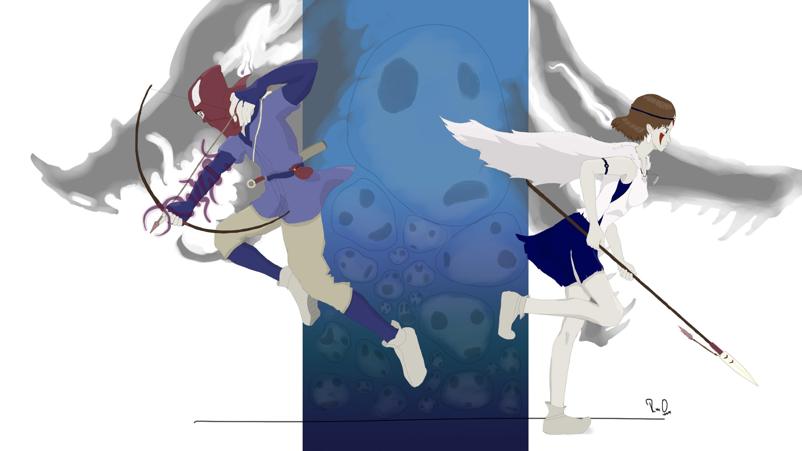 ashitaka princess mononoke characters