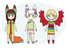 Mixed Adopts 1 (Open) by ChouGirl