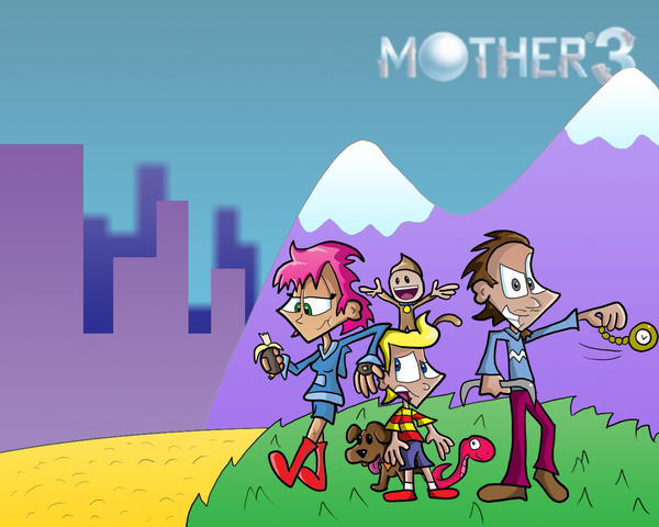 mother 3 wallpaper by clydoken on deviantart