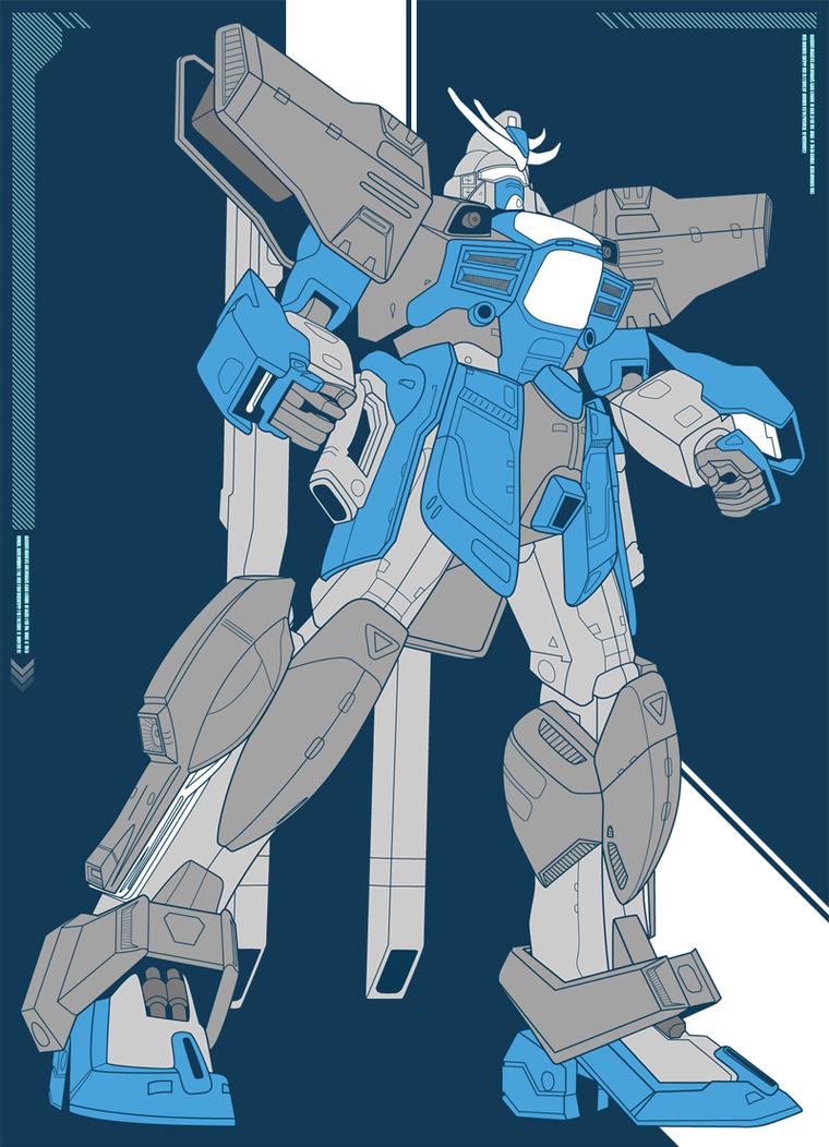 Gundam Mech by all-pro