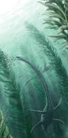 Jurassic  underwater 'forest' by NGZver