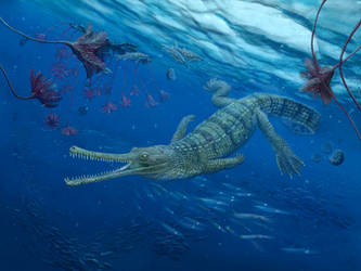 Steneosaurus bollensis by NGZver