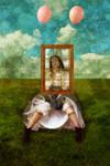 The Window Girl by Mongey