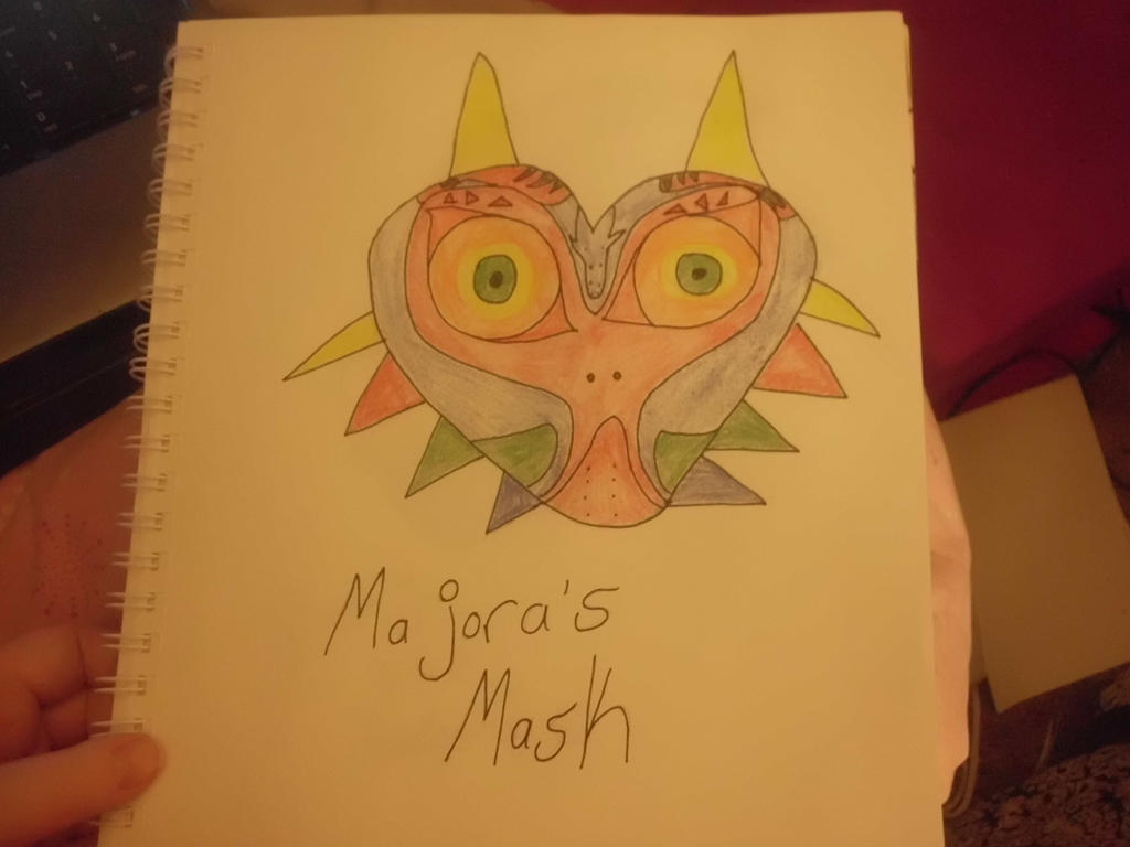 Majora's Mask by CaitlinTheLucario