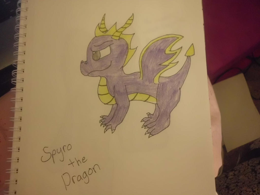 Spryo The Dragon by CaitlinTheLucario