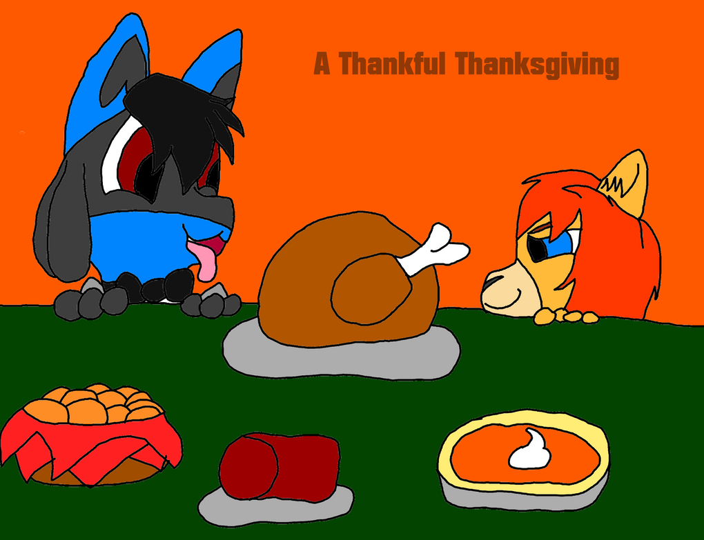 A Thankful Thanksgiving CoverArt by CaitlinTheLucario