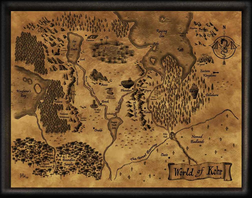 World of Kohr - Northern Kingdoms by Khellaran