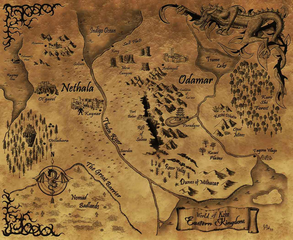 World of Kohr - Eastern Kingdoms by Khellaran