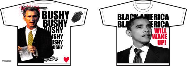 T-Shirt Obama by Apio