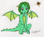 Little dragon girl