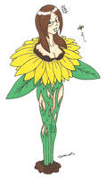 Commission - Sunflower TF