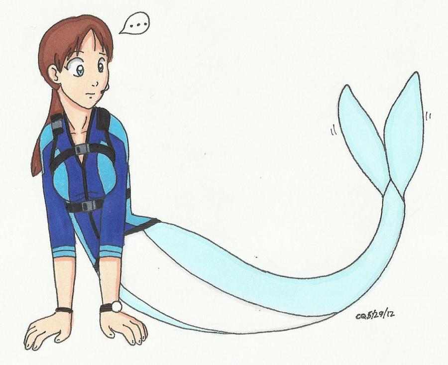 Mermaid Transformation Deviantart