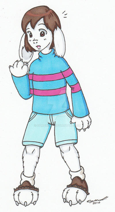 Frisk Dreemurr By Cqmorrell On Deviantart