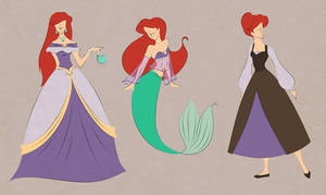 Ariel outfits