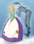 Jack Frost and Elisa