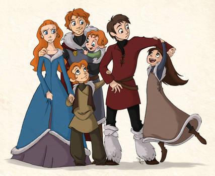 Stark Kids by scaragh