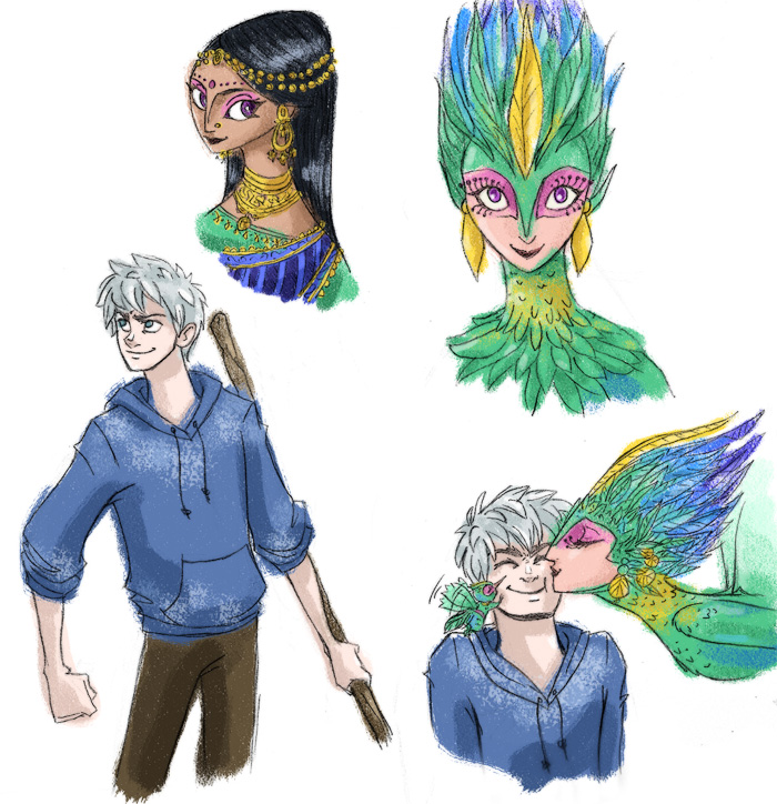 Rise of the Guardians doodles by scaragh on DeviantArtJack Frost Rise Of The Guardians Human