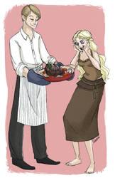 bon appetit, khaleesi by scaragh