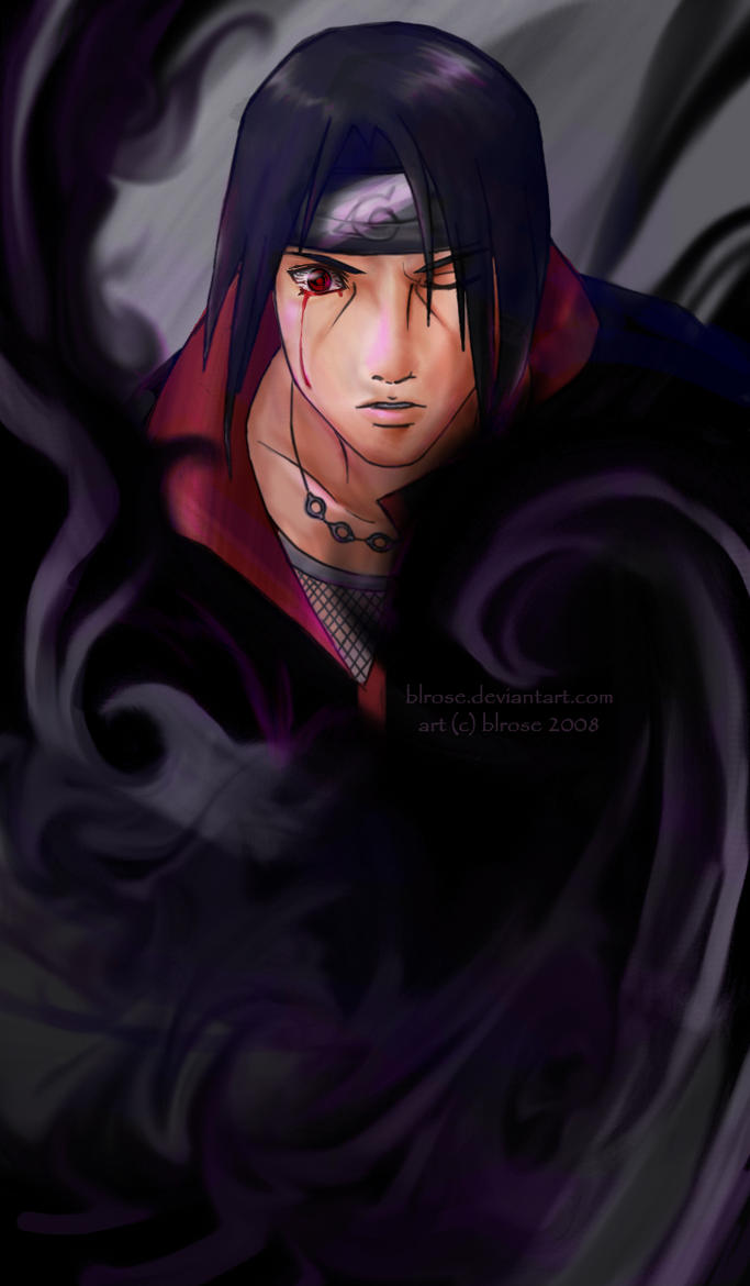 Itachi: Amaterasu By Blrose On DeviantArt
