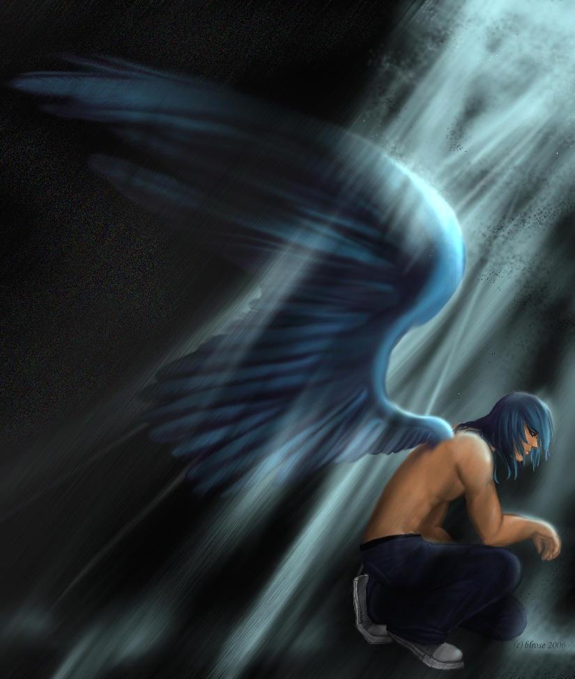 Amytal: Blue Angel by blrose