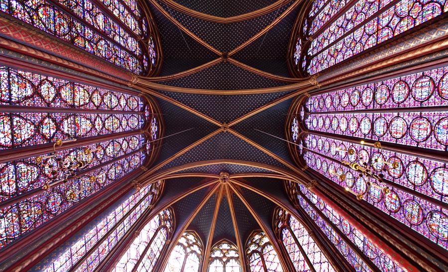 Sainte Chapelle - Paris VI by ThomasHabets