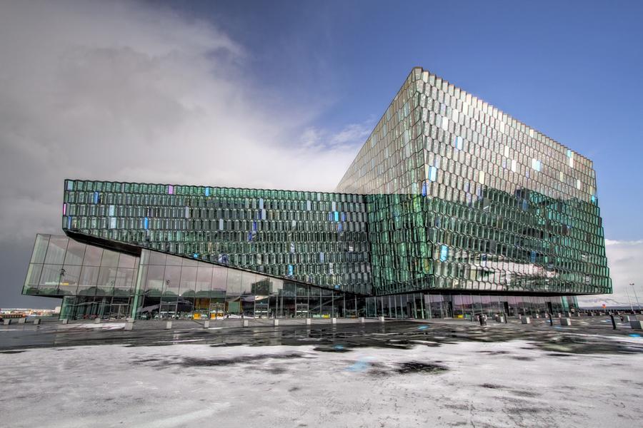 Harpa - Reykjavik by ThomasHabets
