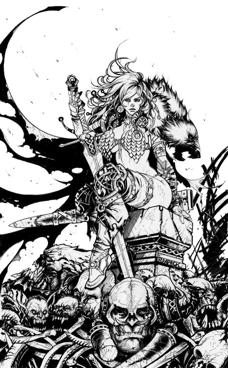 RED SONJA by Raapack