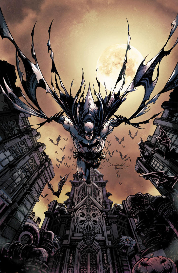 Batman Legend Of The Dark Knight B by Raapack