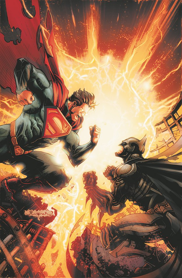 Injustice Gods Among Us #2 Colors by Raapack