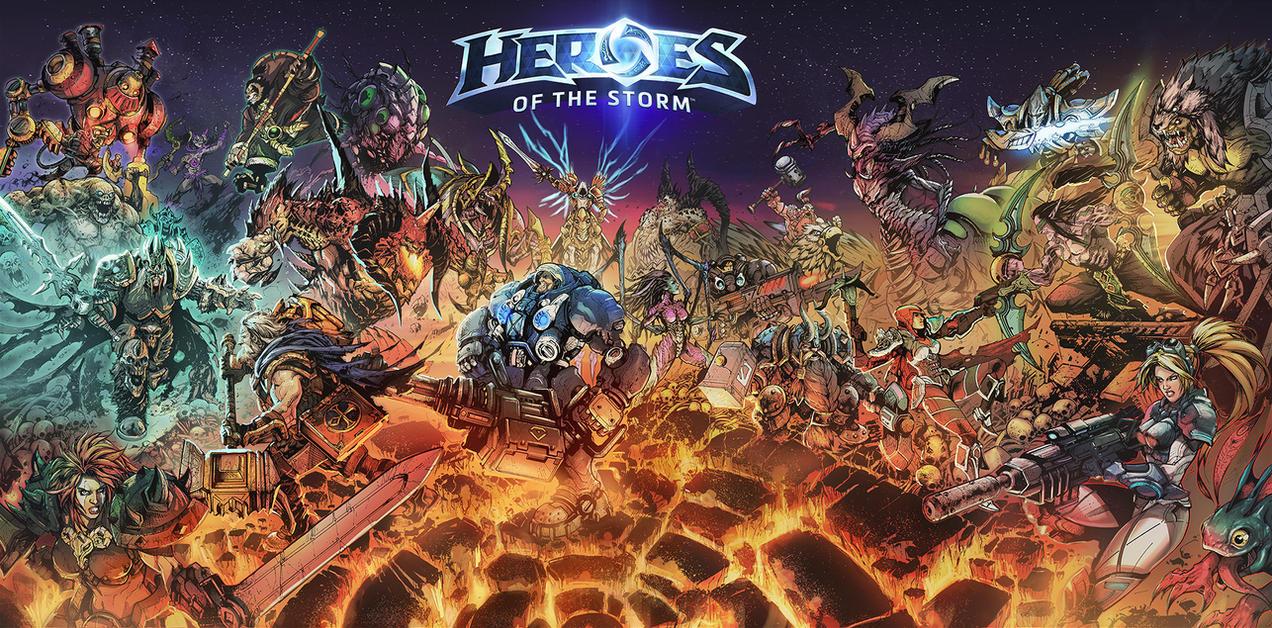 HEROES OF STORM by Raapack