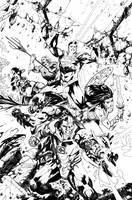 Justice League #25 -Ink